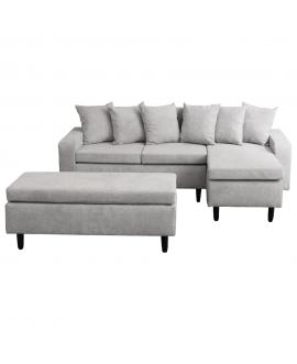 Canapea cu taburet