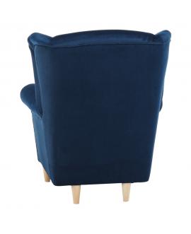 material albastru